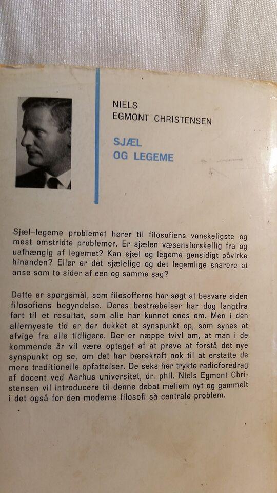 Sjæl og legeme, Niels Egmont Christensen, emne: filosofi