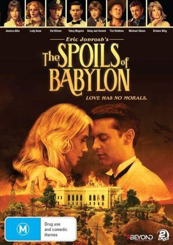 1 of 1 - The Spoils Of Babylon (DVD, 2014, 2-Disc Set), NEW SEALED REGION 4