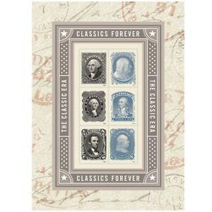 USPS-New-Classics-Forever-Souvenir-Sheet-of-6