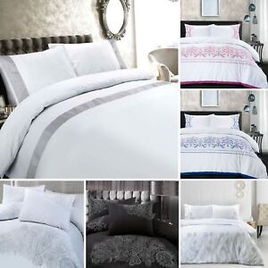 Image Is Loading Superior Hotel Quality Embroidered Embroidery High Thread  Count