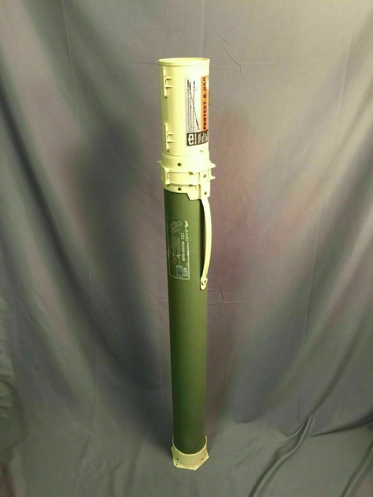 Plano Protect A Rod Telescoping Fishing Rod Case Vintage Model 4072 Made In USA