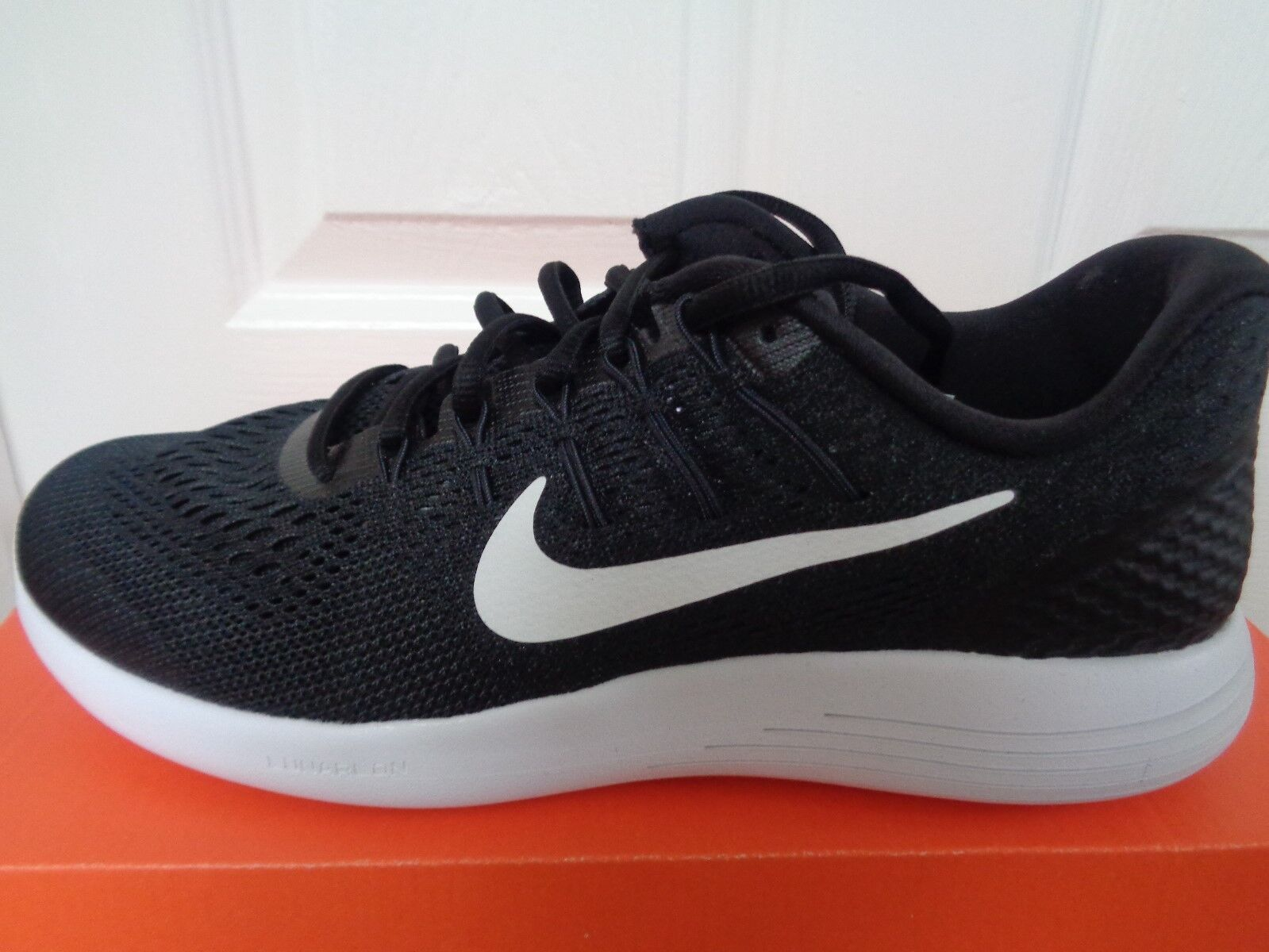 Nike lunarglide 8 mens trainers 42.5 sneakers AA8676 001 eu 42.5 trainers us 9 NEW+BOX e778ff