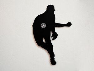 baseball pitcher silhouette wall hook coat hook key hanger ebay