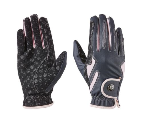 Dublin Cool-It Gel Riding Glove with Silicone Grip Panels on Palm and Fingers
