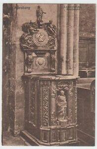 54190-AK-Nuernberg-Lorenzkirche-Zunftstuhl-vor-1945