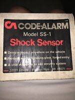 Code Alarm Model Ss-1 Car Alarm Shock Sensor Vintage Collectible Rare Old School