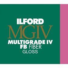 """Ilford Multigrade FB IV VC Black & White Glossy Paper 8x10"""" 100 Sheet (1833489)"""