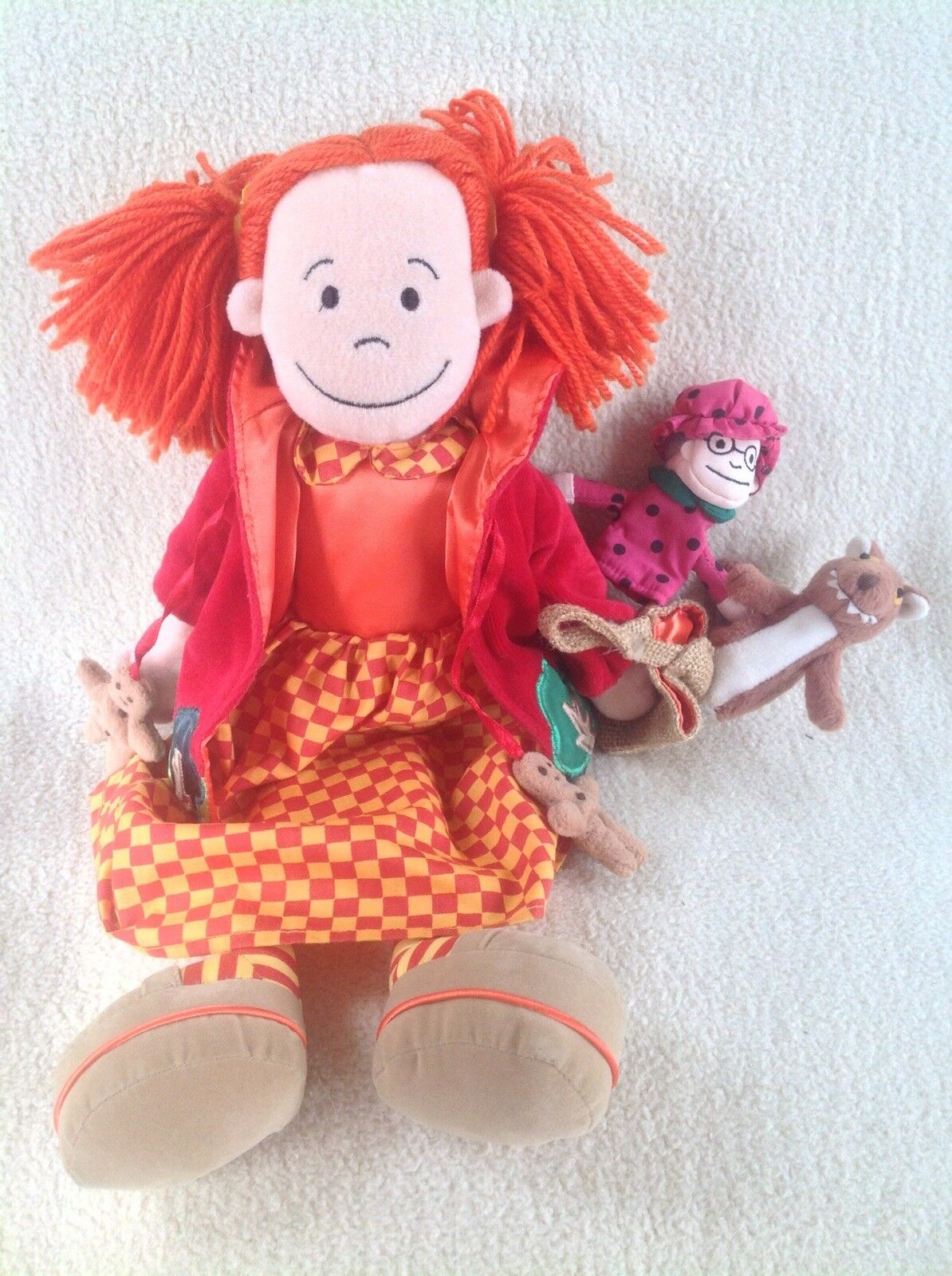 Jellycat Fairy Tale Folk Little Red Riding Hood Plush Soft Doll - Rare