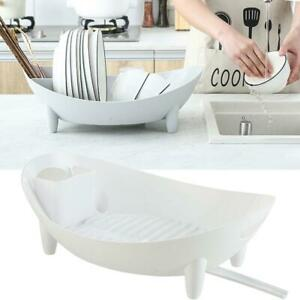 Multifunction-Kitchen-Dish-Drainer-Dry-Rack-Plate-Bowl-Cutlery-Sink-Storage-New