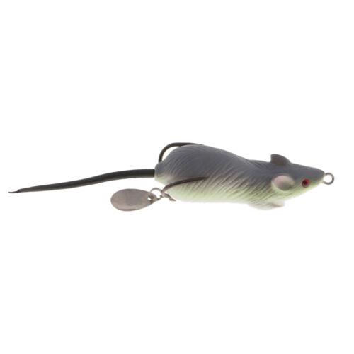 Lebensechte 3D Eye Mouse Fischköder 12cm Froschmäuse Köder 10cm