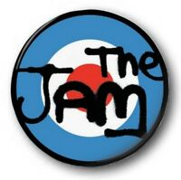 THE JAM LOGO - 1 inch / 25mm Button Badge - Weller Scooter Target