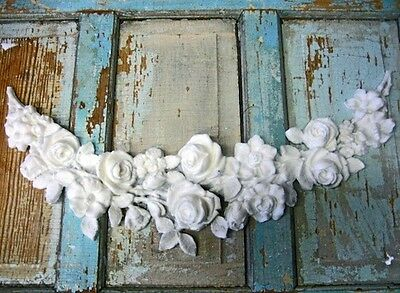 shabby chic rose swag french huge furniture appliques appliques for furniture