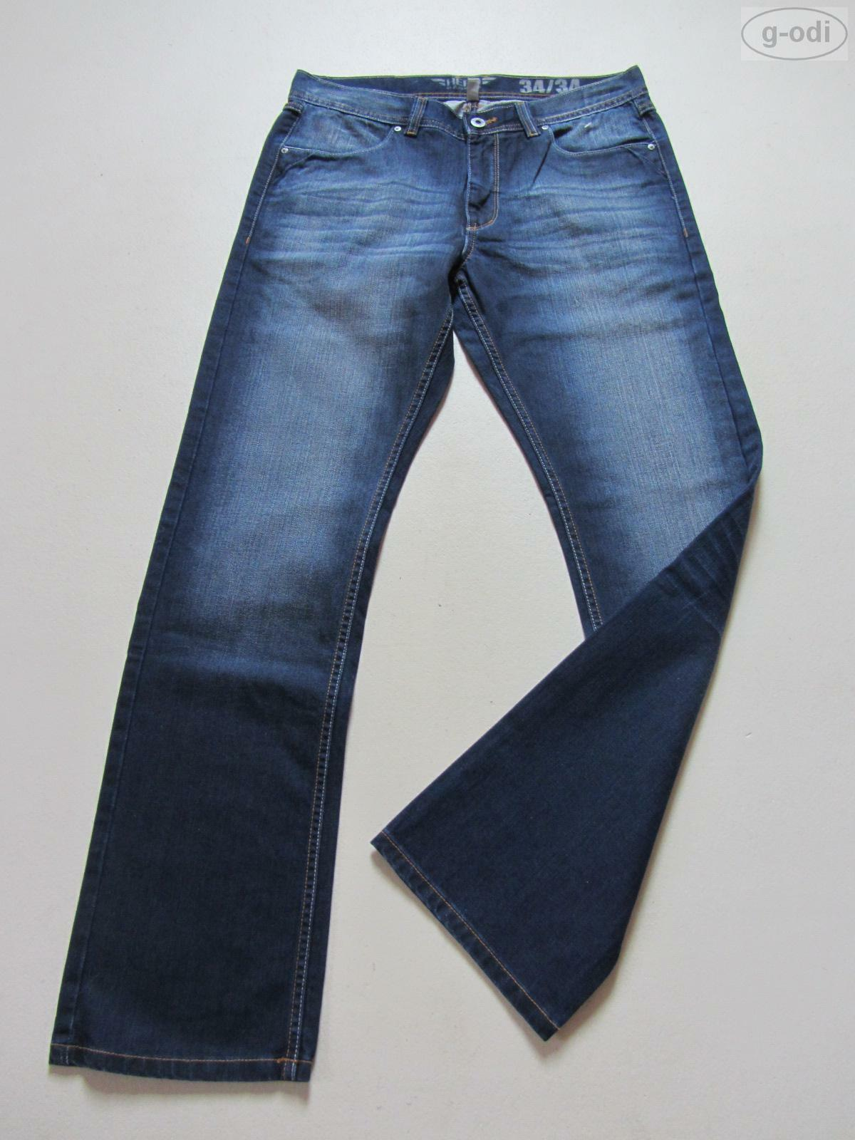 HERO by John Medoox Jeans Hose, W 34  L 30, NEU   Top Waschung   BOSTON Denim