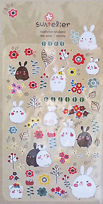 Suatelier Bunny Rabbit Sticker Sheet (Bonny)~KAWAII!!