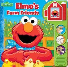 Play-A-Sound: Elmo's Farm Friends (2013, Board Book)