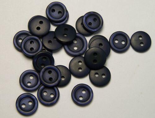 10pc 11 mm bleu marine chemise chemisier robe cardigan enfants Baby Sewing Button 0161