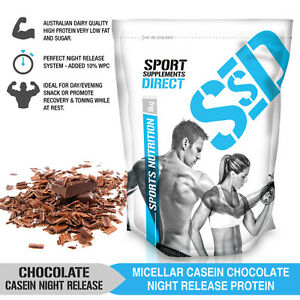 Chocolate Micellar Casein Protein Powder Night Release 1kg