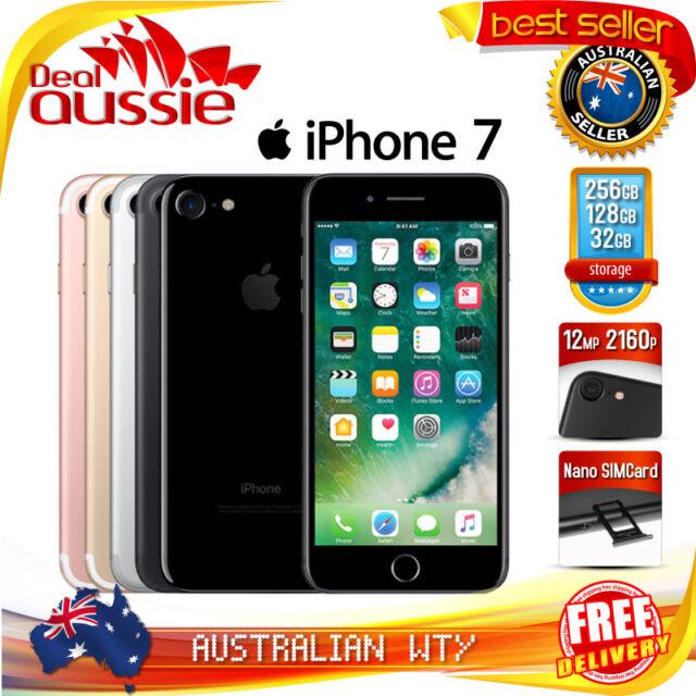 APPLE iPHONE SEVEN 32GB 128GB 256GB UNLOCKED (100% ORIGINAL & AUTHENTIC APPLE)