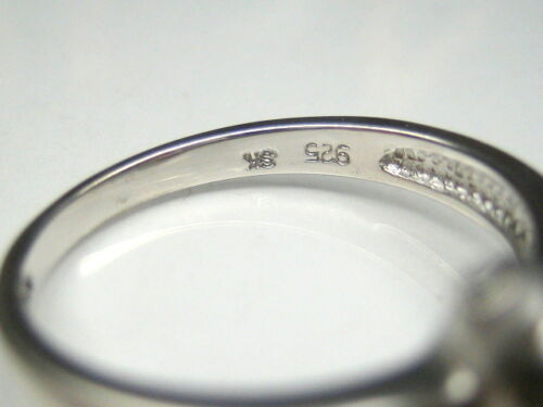 AUTH DISNEY WINNIE THE POOH PIGLET STERLING SILVER PLATINUM CLAD RING