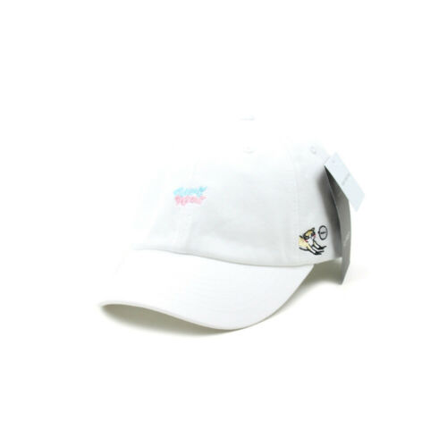 Unisex Mens Womens Flipper Cats Meow Cotton Candy Baseball Cap Dad Hats White