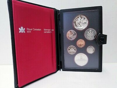 WORLD UNIVERSITY GAME High Grade Nice Coin Canada 1983 Silver Dollar PROOF UNC