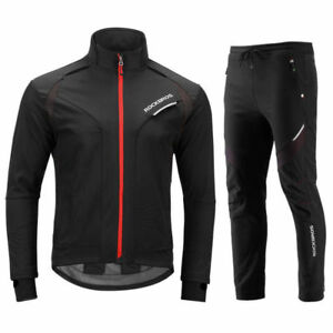 RockBros-Winter-Cycling-Jacket-Thermal-Windproof-Set-Outdoor-Jersey-amp-Pants