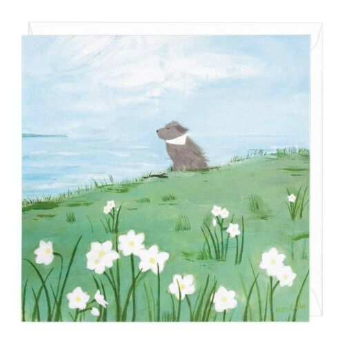 Enjoying The Breeze Art Card Any Occasion by WHISTLEFISH blank greeting card