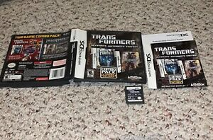 Transformers -- Ultimate Autobots Edition (Nintendo DS, 2013) COMPLETE Tested