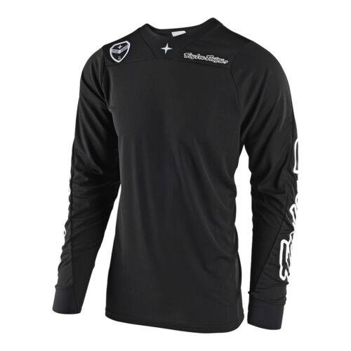 Troy Lee Designs SE Air Solo Mens MX Offroad Jersey Black
