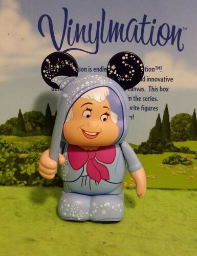 DISNEY Vinylmation Park 3 Set 1 Cinderella Fairy Godmother with Wand