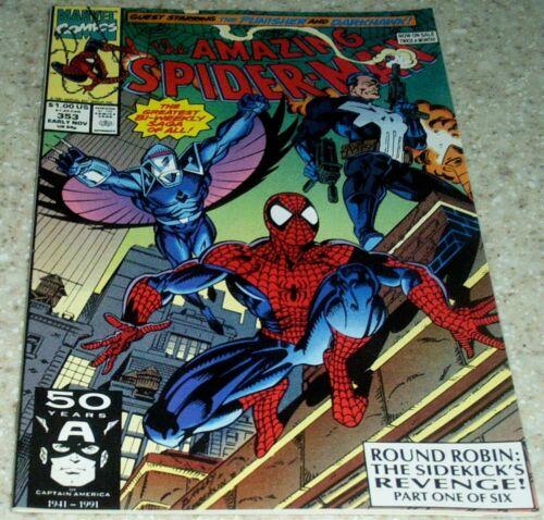50/% off Guide! Darkhawk NM- 9.2 1991 Punisher Amazing Spider-Man 353