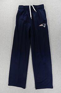 New-England-NFL-Team-Apparel-Football-SideLine-Pants-Youth-Medium-10-12-Blue