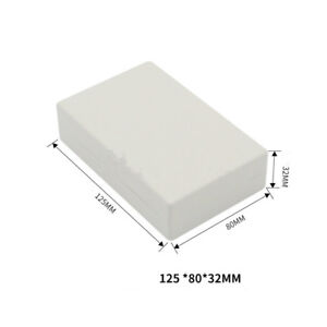 Enclosure-Case-Plastic-Box-Circuit-Board-Project-Electronic-125x80x32mm-DIY
