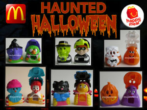LOOSE-McDonald-039-s-1997-HAUNTED-HALLOWEEN-Candy-Holder-Dispenser-YOUR-TOY-CHOICE