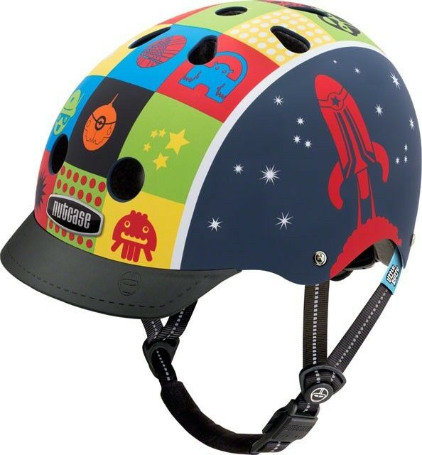 Nutcase Little Nutty Helmet  Space Cadet Matte XS