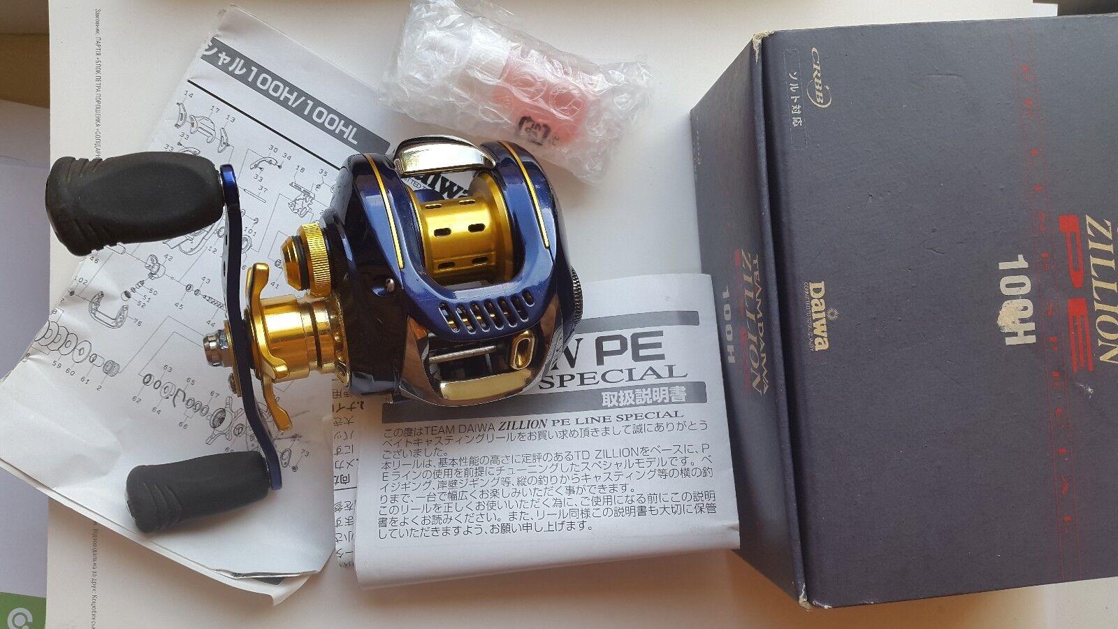 Daiwa TD Zillion PE special 100h