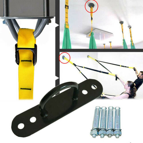Useful Gym Boxing Yoga Swing Fitness Rope Ceiling Wall Mount Hook Anchor Tool FI