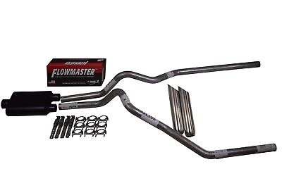 F150 07-13 dual exhaust 2.5 pipe Flowmaster 40   Side Exit