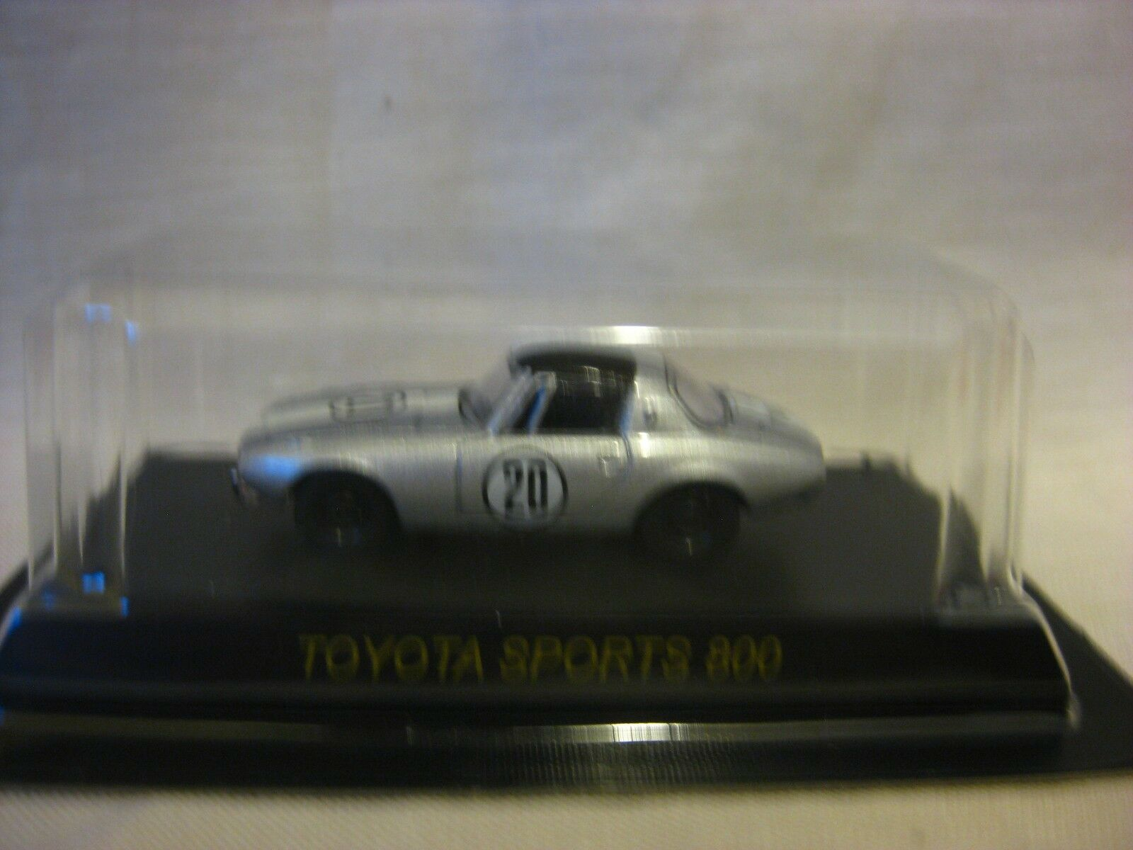 1 64 Kyosho Toyota SPORTS 800 No.20  Diecast Model voiture  vente directe d'usine