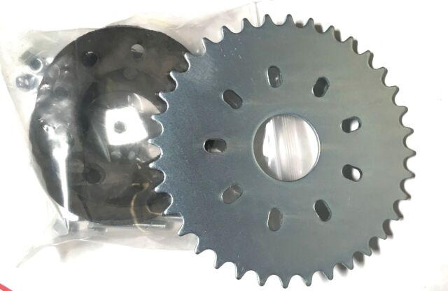 80cc Motor Bicycle Gas Engine Parts 36 Teeth Flat Sprocket With Mount