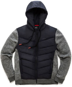 Boost Black Quilted Jacket Alpinestars In SzOqX4qwT