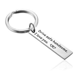 Drive-Safe-Trucker-Keychain-Handsome-I-Love-You-Boyfriend-Keyring-Husband-Gif-AU