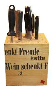 MESSERBLOCK-NEUHEIT-ohne-Messer-unbestueckt-universal-fuer-1-20-Messer
