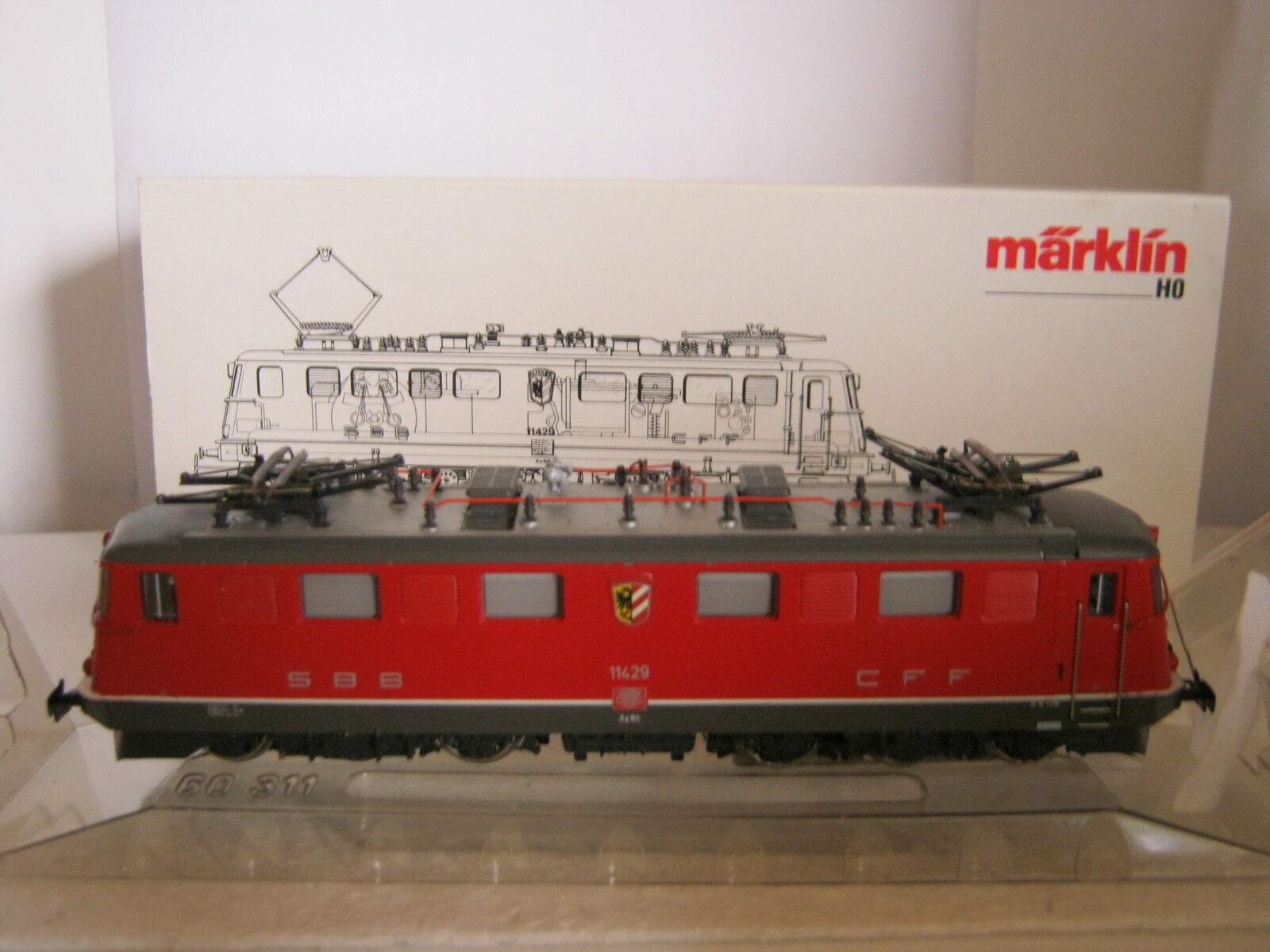 Marklin ho 3332 Elektro Lok Altdorf BTR. nr 11429 SBB CFF rosso (rg af 118s2)
