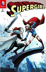 SUPERMAN (2012) #5 (deutsch) VARIANT-COVER  lim.999 Ex. COMIC ACTION  SUPERGIRL