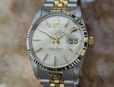 Rolex 16013 Swiss Made Men 18k Gold and Stainless St All Original 1980 Watch AA3
