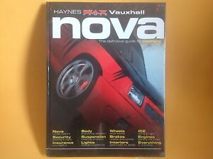 sealed haynes maxpower max power manual vauxhall nova guide to rh ebay co uk Haynes Manual Pictures Back Haynes Manual Pictures Back