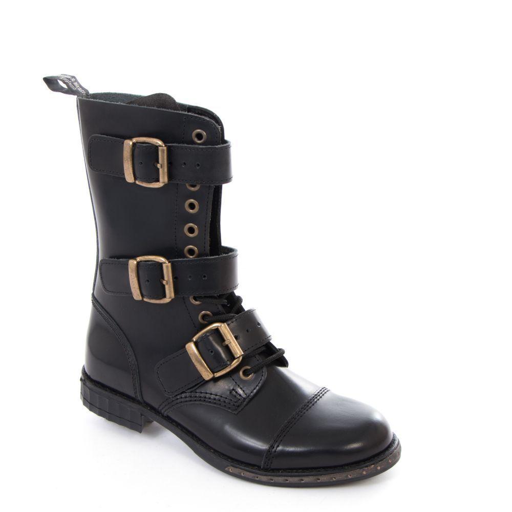 Stiefel & Braces Stiefel SecretTime Travel-Steampunk-Gothic-Stiefel-schnallen