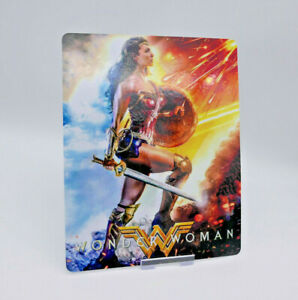 WONDER-WOMAN-Glossy-Bluray-Steelbook-Magnet-Cover-NOT-LENTICULAR