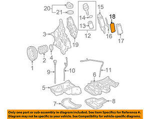 mercedes oem 06 11 e350 3 5l v6 engine oil cooler gasket 2721840280 rh ebay com V8 Engine Diagram GM 3.4L V6 Engine Diagram
